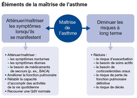 Mednet - CME, CHE   Maîtrise de l'asthme : Pensons long terme